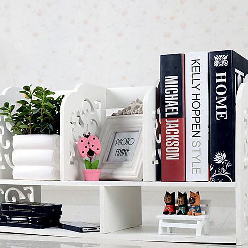 Современный шаблон Белый барокко рабочего Книжная Полка Lightinthebox 1718.000