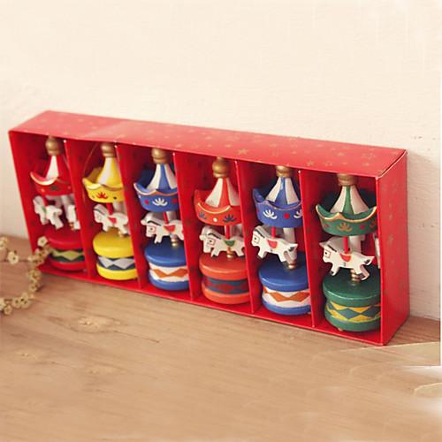 Деревянный Merry-Go-тур Keepsake - Набор из 6 штук Lightinthebox 652.000