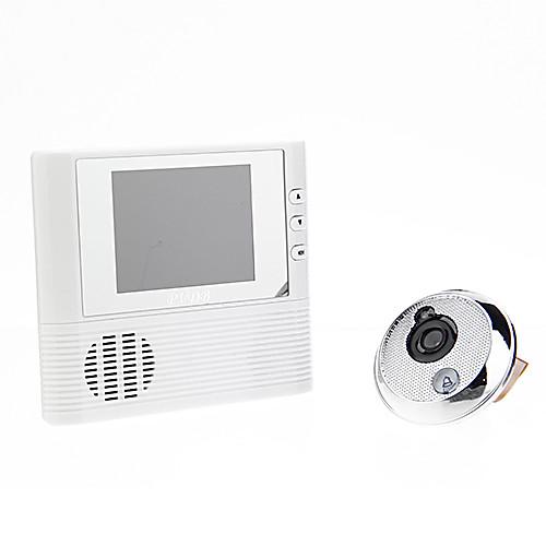 Визуальный 3X цифровой зум дверной звонок Электронный глазок 2.8