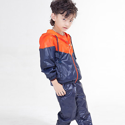 Мальчика Толстовка Контрастность Цвет Спортивная одежда Комплект Lightinthebox 2448.000