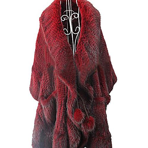Половина рукава платок норки партии / вскользь куртку Lightinthebox 25352.000