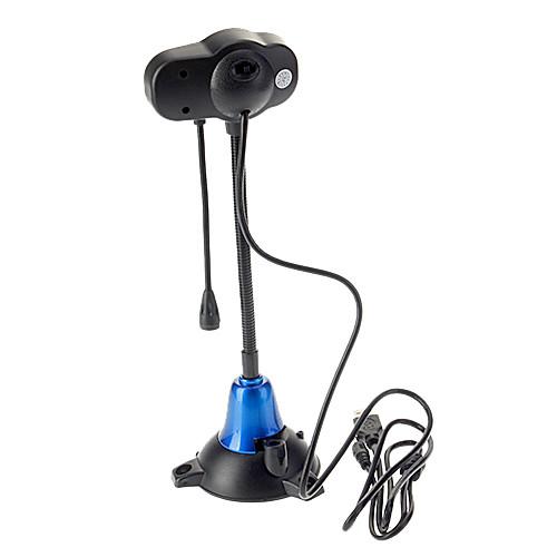 Профессиональная веб-камера для ПК на 8.0 мегапикселей с 4-LED лампами на регулируемой ножке, USB 2.0 Lightinthebox 257.000