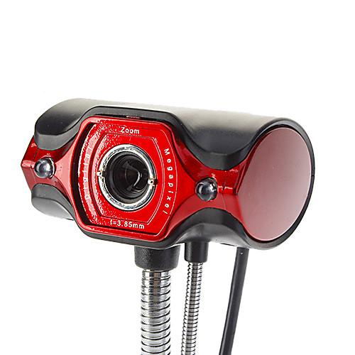 8.0 мегапикселей 2-LEDUSB 2.0 Clip-на ПК веб-камера камера Lightinthebox 257.000