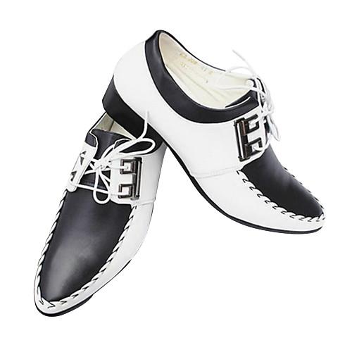 мужские плоским пятки комфорта Oxfords обувь с шнуровке Lightinthebox 1718.000