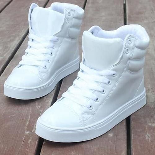Лакированной кожи Женщины Мода Обувь Флуоресцентный цвет кроссовки Lightinthebox 1503.000