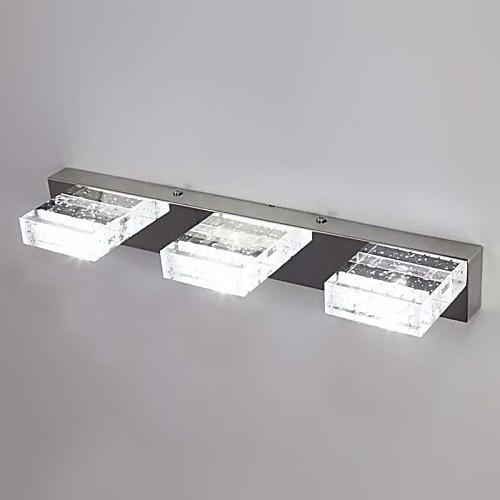 Светодиодный настенный светильник, 3 Легкий, современный Металл Стекло гальванических Lightinthebox 5156.000