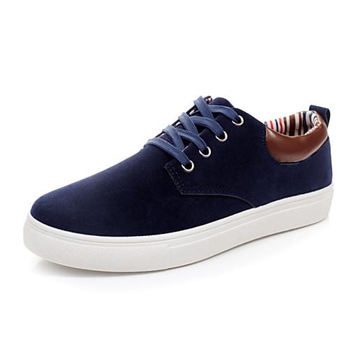 Мужская искусственной кожи плоский каблук Комфорт Мода кроссовки туфли с шнуровке (больше цветов) Lightinthebox 987.000