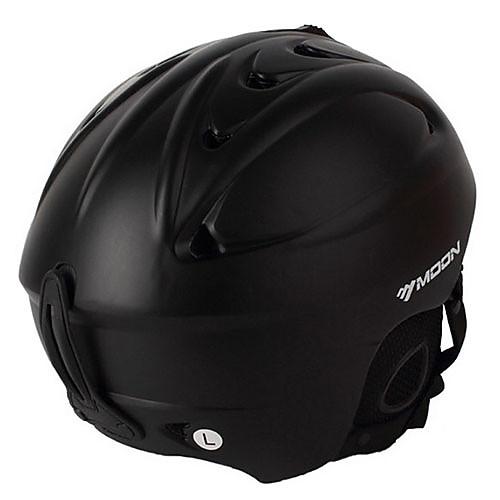 ЛУНА Unsiex Matte Black осень / зима ABS лыжи / сноуборд шлем Lightinthebox 1288.000
