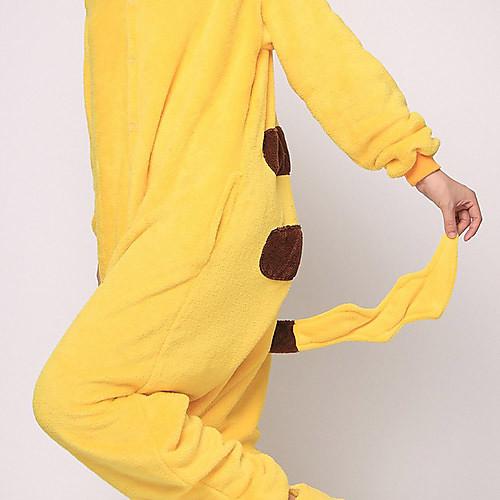 Мужская Желтый Пикачу ватки коралла Kigurumi пижамы Lightinthebox 2148.000