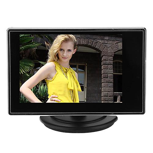 3,5-дюймовый TFT ЖК-дисплей Малый Регулируемый монитор для CCTV камеры и DVR автомобиля с А.В. RCA видео вход звука Lightinthebox 1202.000