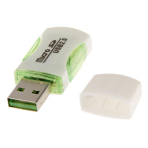 USB-устройство считывания карт 2.0 Память (черный / фиолетовый / синий / зеленый / красный) Lightinthebox 33.000