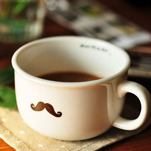Усы Кружка кофе, керамические 5oz Lightinthebox 450.000
