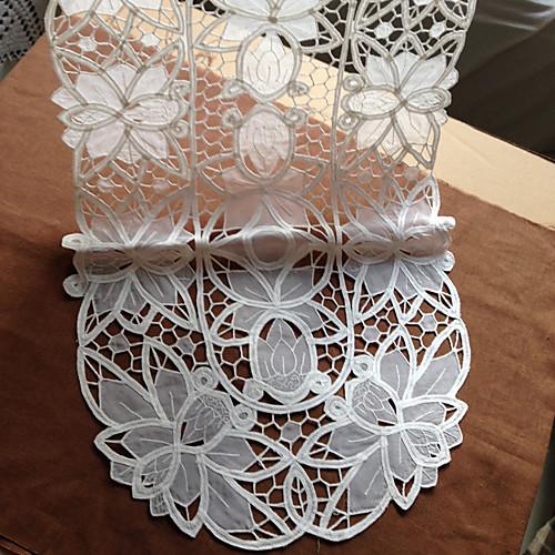 Cutworking стола вышивка Runner, полиэстер 38X85CM Lightinthebox 321.000