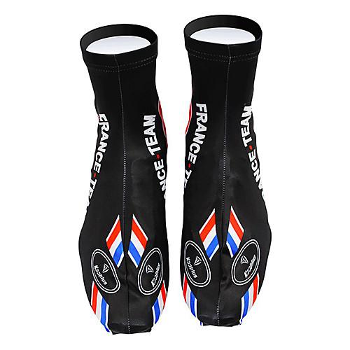 KOOPLUS - сборной Франции полиэстер  лайкра черный  синий Велоспорт обувь Обложка Lightinthebox 858.000