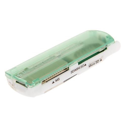 USB 4-в-1 2.0 Устройство чтения карт памяти (розовый / пурпурный / оранжевый / зеленый / черный) Lightinthebox 85.000