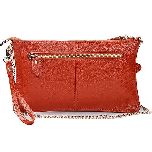 Дизайнер Женская Натуральная кожа Конверт сцепления сумки Посланник Lightinthebox 1503.000