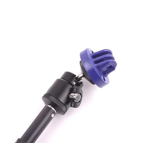 Новый Выдвижной Ручной полюс монопод с голубой пластиковый кронштейн для установки GoPro Hero 2 3 3 Lightinthebox 685.000