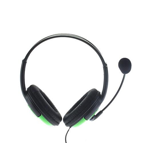 Высококачественные наушники с микрофоном для Xbox 360 (зеленые) Lightinthebox 513.000