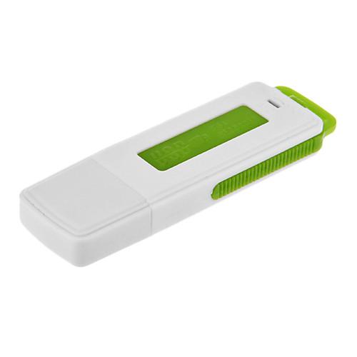 2 в 1 USB Flash Drive видеонаблюдения Аудио Диктофон 8GB 96 часов Долгое время записи USB скрытый тип (черный) Lightinthebox 858.000