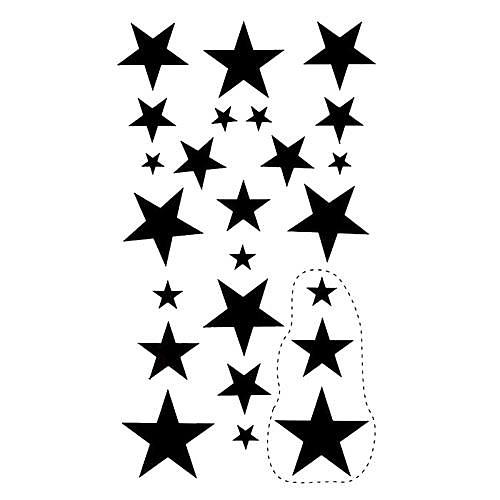 5 шт пятиконечная звезда Водонепроницаемый Временные татуировки (10.5cm  20.5cm) HM427 Lightinthebox 429.000