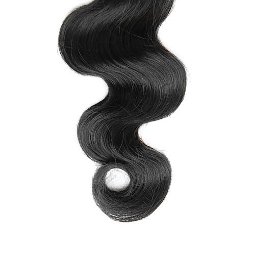 4шт 14inch Natural Black объемная волна бразильских Weave волос девственницы Связки Lightinthebox 9281.000