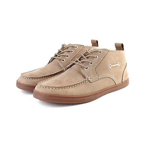 Кожаные мужские плоский каблук лодыжки Модные сапоги (больше цветов) Lightinthebox 1933.000