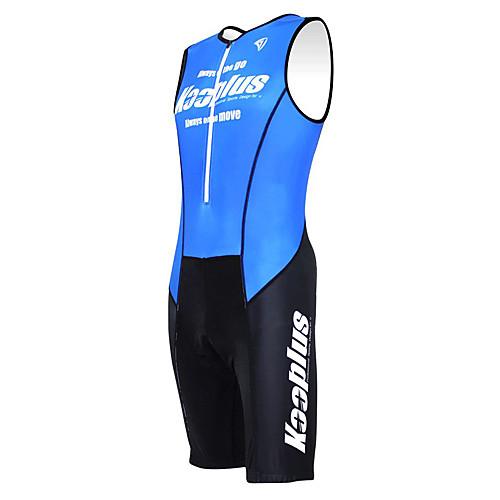 KOOPLUS - Триатлон черный  синий рукавов Износ и шорты Сиамские задействуя одежда Lightinthebox 3007.000