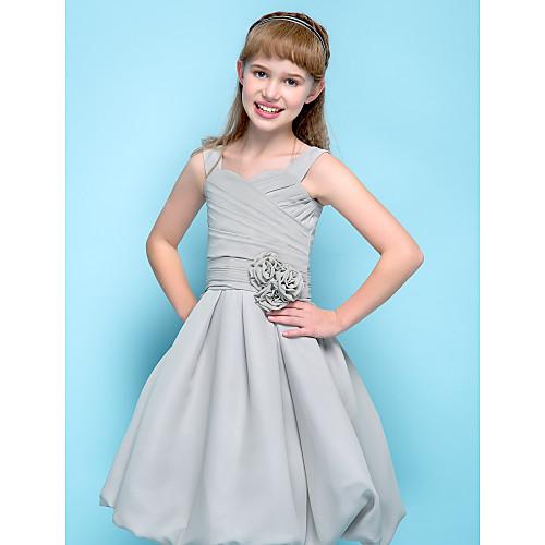 Онлайн ремни длиной до колен шифон младших платье невесты (734035) Lightinthebox 3351.000