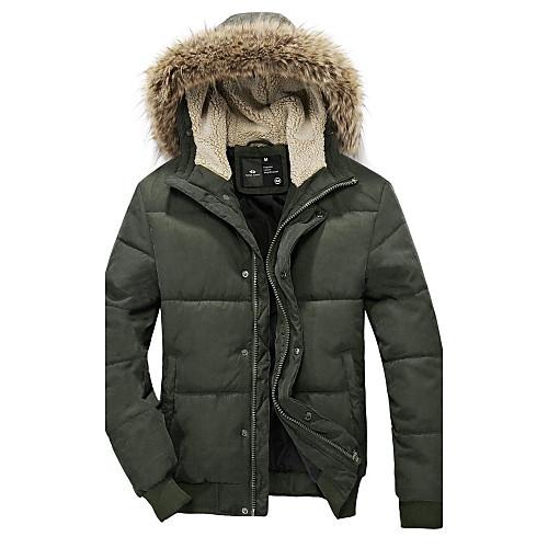 Мужская толстовка с капюшоном Толстая длинным рукавом куртки Lightinthebox 1424.000