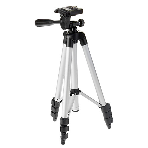 KASON LX-130 4-Раздел штатив камеры (серебро  черный) Lightinthebox 1073.000