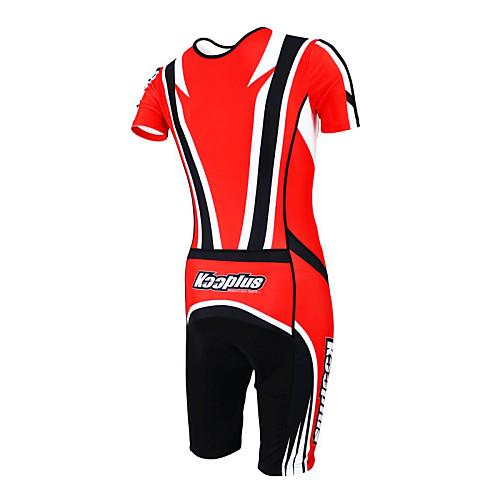 KOOPLUS - Триатлон красный  черный коротким рукавом носить и шорты сиамских задействуя одежда Lightinthebox 3222.000