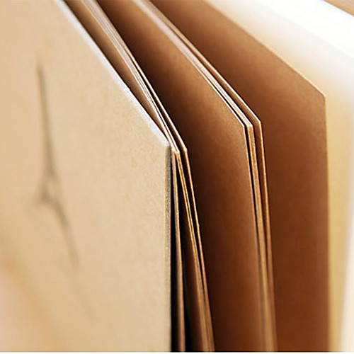 Башня шаблон Браун бумаги Фотоальбом (больше цветов) Lightinthebox 695.000