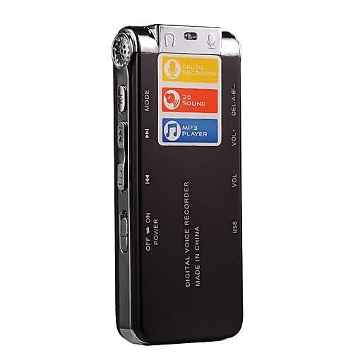Горячие Продаем 8G MP3 Цифровой диктофон (Wine Red) Lightinthebox 1374.000
