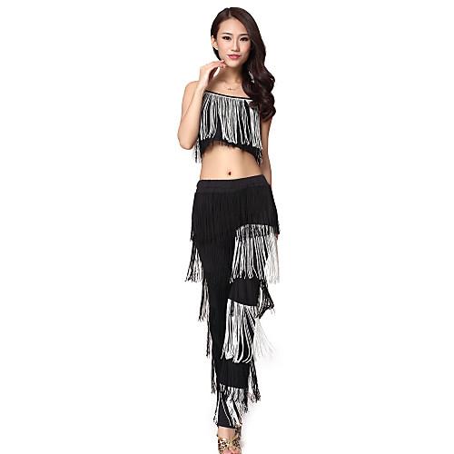 Танцевальная одежда Женские полиэстер Tassels Танцы наряды (Топ & Bottom) Lightinthebox 1503.000