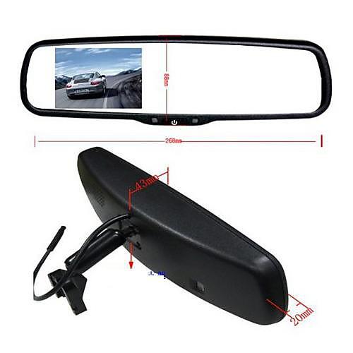 Горячая 3,5-дюймовый Оригинальный зеркало заднего вида монитора Toyota / Nissan / Ford / Hyundai / Buick Special зеркало заднего вида Lightinthebox 2491.000