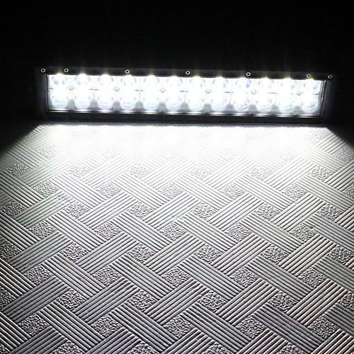 72W DC 10 ~ 30V 24-светодиодный Combo Луч 5040lm 6000K Белый свет крыши автомобиля света Lightinthebox 3050.000