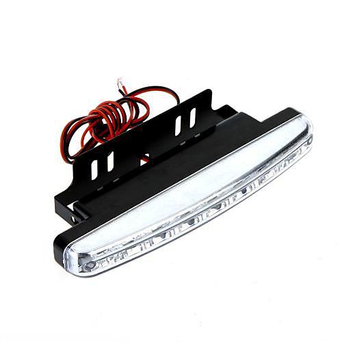 2шт 8LED супер яркий белый DRL автомобилей дневного света Lightinthebox 257.000