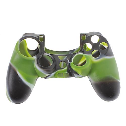 Силиконовая кожа случае для PS4 Controller (черный  зеленый  белый) Lightinthebox 126.000