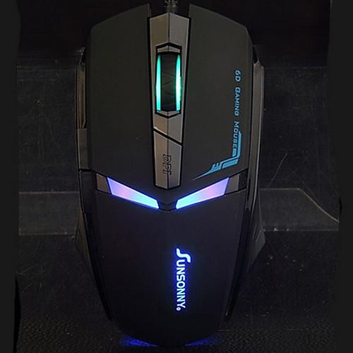 Sunsonny т-m30 дизайн железный человек привело свет проводной игровой мыши USB с коврик для мыши Lightinthebox 429.000