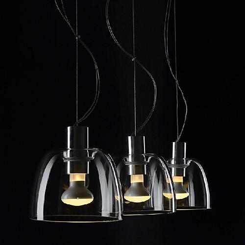 Лампы подвесные со стеклянным абажуром (3 шт.) Lightinthebox 4296.000