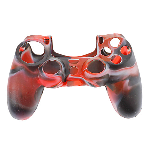 Чехол силиконовый для PS4 контроллера (черный  белый  красный) Lightinthebox 126.000
