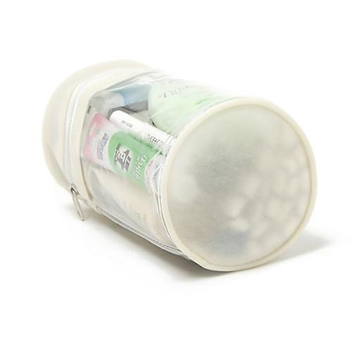 Бежевый Прозрачный ПВХ Колонный Макияж / Косметика сумка Ванная Косметика хранения с веревкой Lightinthebox 171.000
