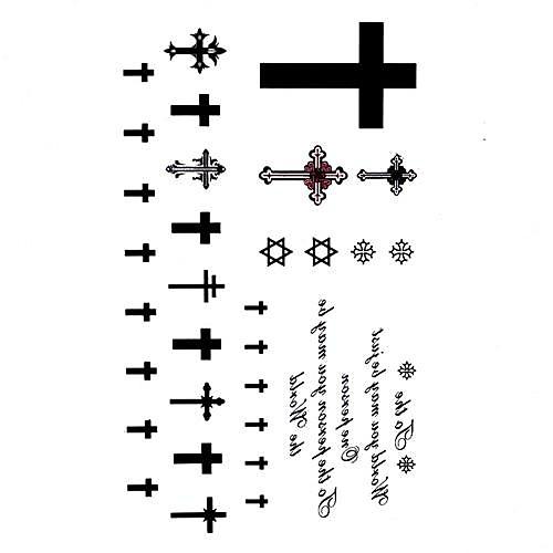 5 шт Руд Водонепроницаемый Временные татуировки (10.5cm  20.5cm) HM603 Lightinthebox 429.000