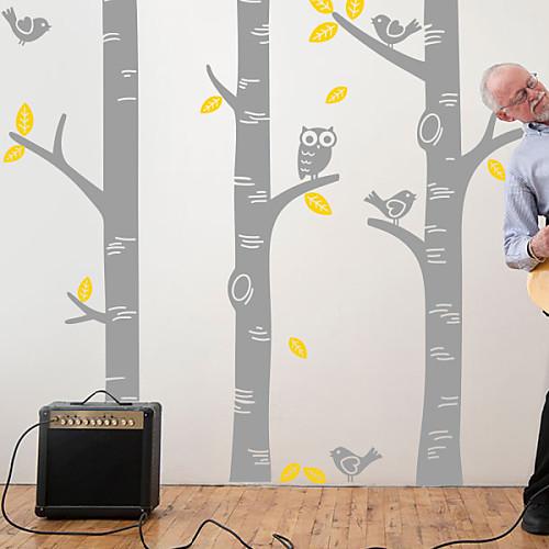 Ботанический Березка Наклейки на стены стены стикеры Lightinthebox 1718.000