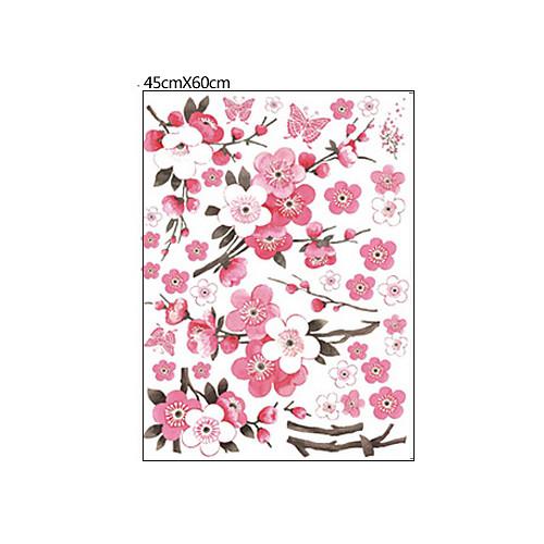 Цветы бабочки Съемный стикер стены Lightinthebox 558.000