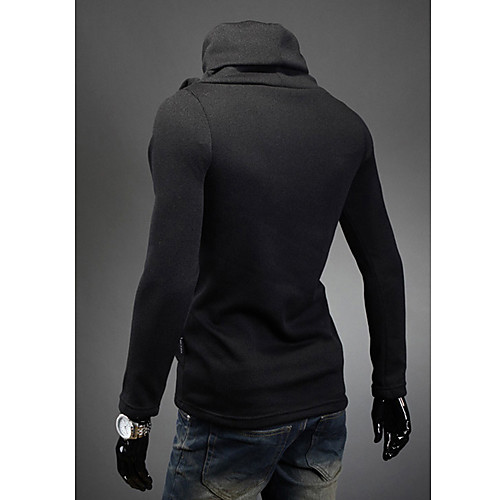 Мужская Color Matching Кнопка свитер Lightinthebox 537.000