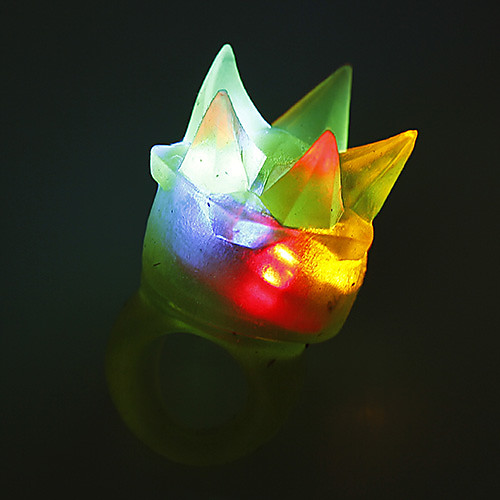 LED Цвет меняющейся Гибкая Клей палец кольцо Lightinthebox 64.000