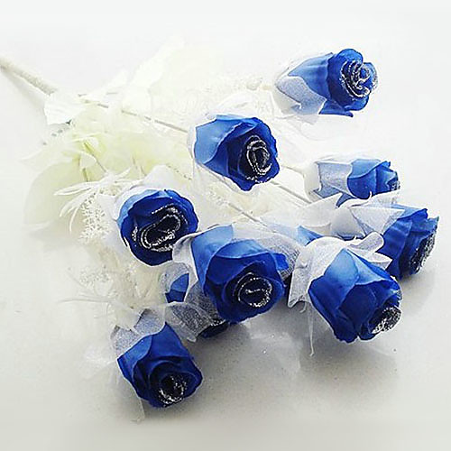 Темно-синий Искусственные цветы - набор из 12 цветов Lightinthebox 401.000