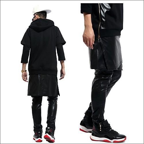 Новый мужской кожаный Юбки Брюки Lightinthebox 1033.000