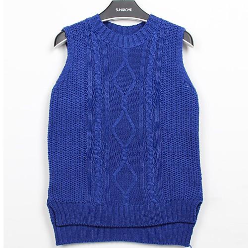 Женская Твист пуловер свитер жилет
